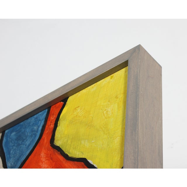Image of Mid Century Abstract Painting