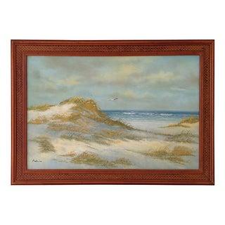 Mid-Century Seaside Painting