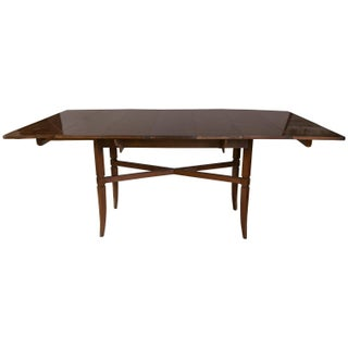 Charak for Tommi Parzinger Drop Side Dining Table