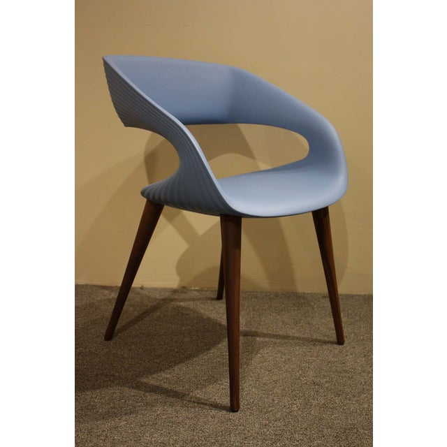 Image of Molded Oggetti Shape Chairs - Pair - 4 Avail.