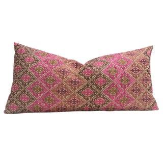 Cafe Swati Floral Brocade Pillow