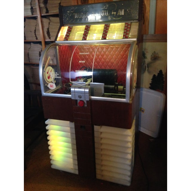Image of 1951 Ami Jukebox D-80 (45 Rpm)