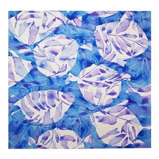 "Kate Roebuck ""Blowfish"" Watercolor Painting"