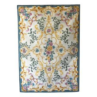 Provencal Floral Needlepoint Tapestry