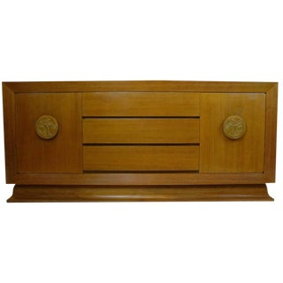 James Mont Sideboard or Buffet in Bleached Mahogany