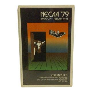 "1980 Vintage ""Necca '79"" Concert Poster"