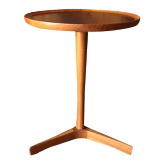 Hans C Andersen Danish Modern Refinished Teak Side Table