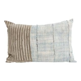 Vintage African Mudcloth Pillow Lumbar