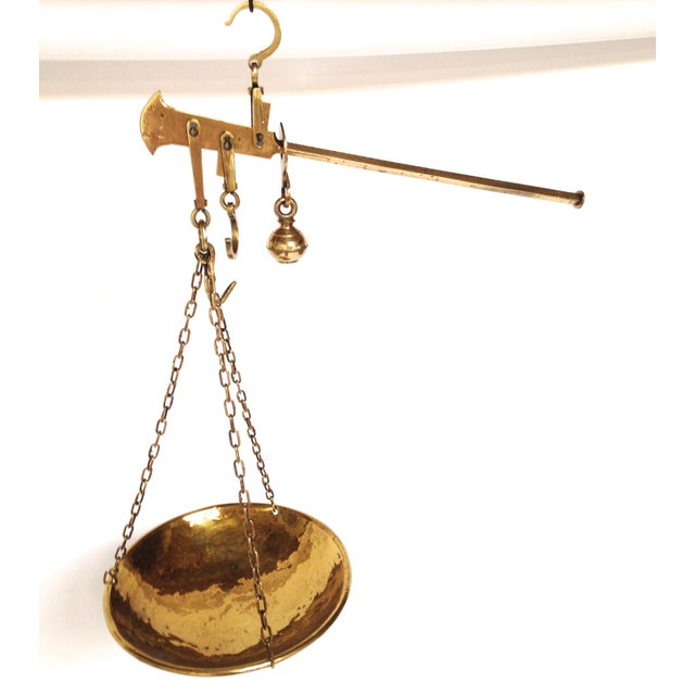 Image of Antique Brass Unequal Arm Scale