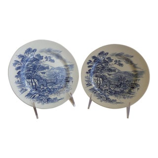 Wedgwood Countryside Pattern Plates - A Pair