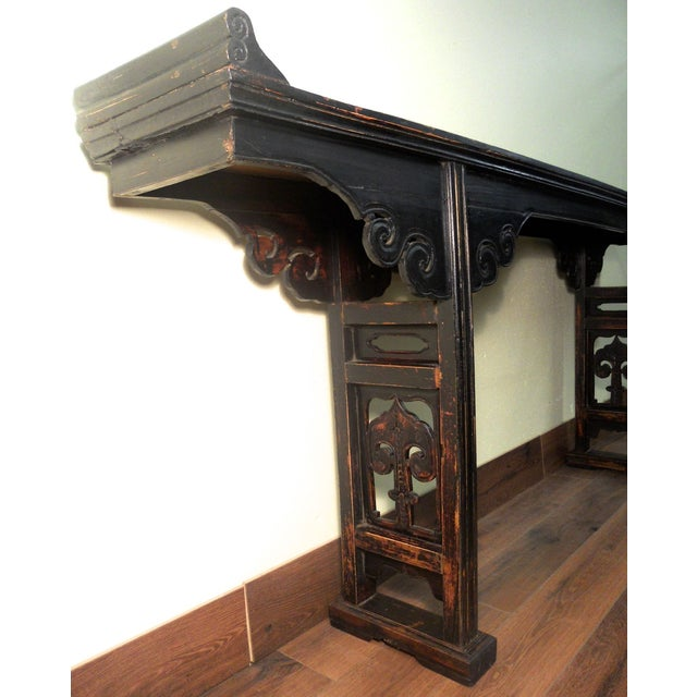 19th-Century Chinese Altar Table - Image 8 of 10