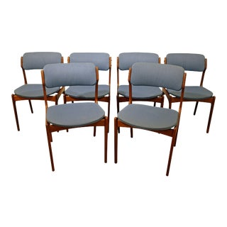 Mid-Century Erik Buch Mobler Teak Dining Chairs - Set of 6