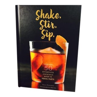 """Shake, Stir, Sip"" Cocktail Book"