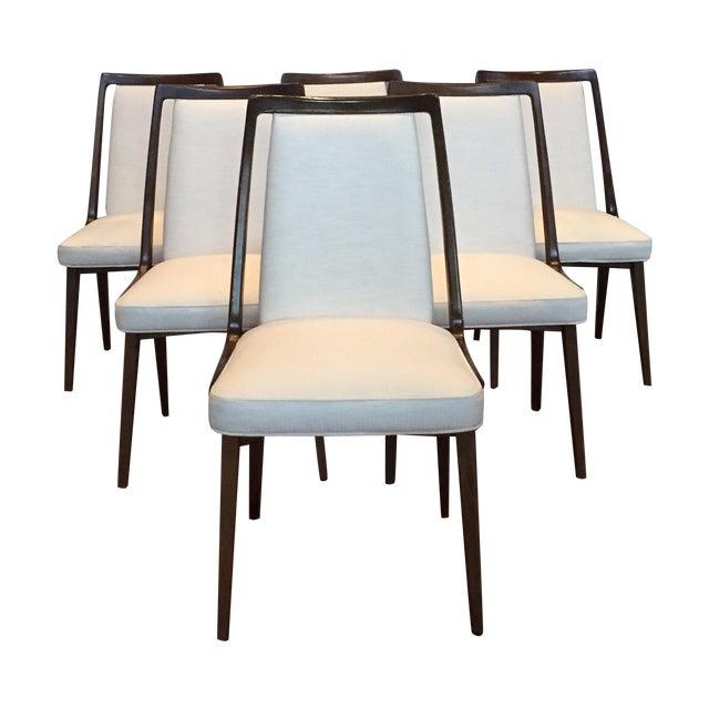 Mid-Century Danish Dining Chairs - Set of 6 - Image 1 of 10