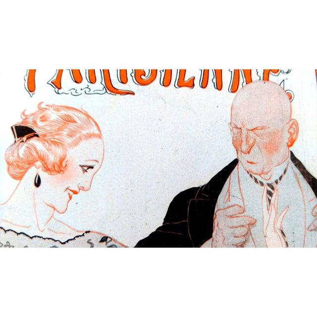 1922 La Vie Parisienne Cover Prints - a Pair - Image 3 of 9