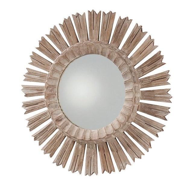 Arteriors Home Hand Carved Sunburst Mirror - Image 2 of 8