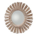 Image of Arteriors Home Hand Carved Sunburst Mirror