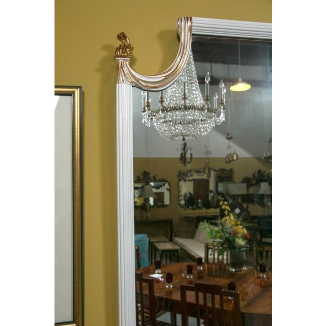 Hollywood regency giltwood wall console mirror chairish for Hollywood regency wall decor