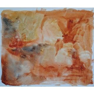 Vintage Watercolor Abstract, II