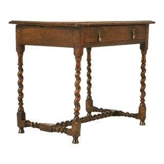 Circa 1700s English Country Style Writing Desk