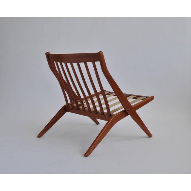 Folk Ohlsson Scandinavian Scissor Lounge Chairs - Image 8 of 10
