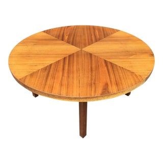 Mid-Century Modern Round Coffee Table