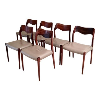 Niels O. Møller Dining Chairs - Set of 6