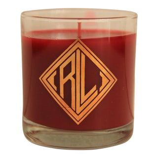 Ralph Lauren Mongrammed Candle