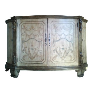 Hand Painted Tuscan Style Credenza