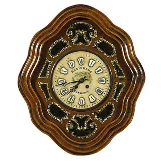 19th-Century Antique French Shop Clock