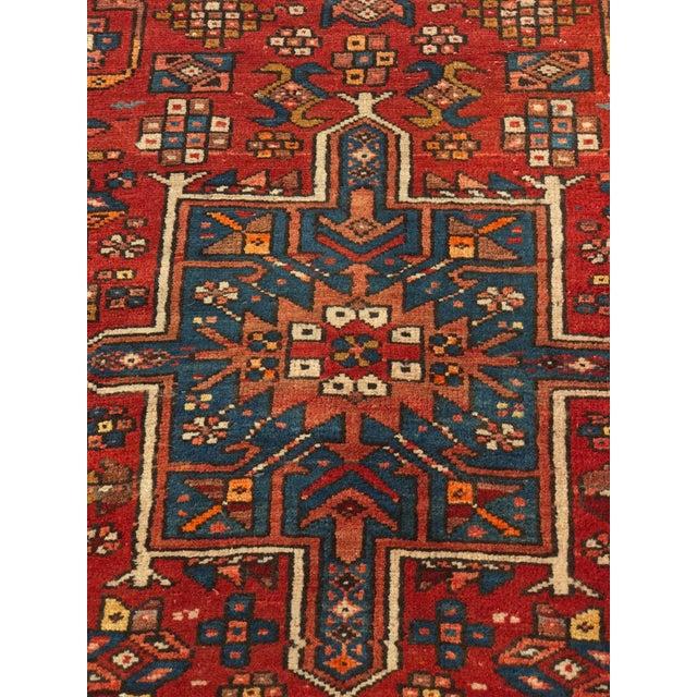 """Vintage Persian Karajeh Runner - 3'1"""" x 11'6"""" - Image 4 of 10"""