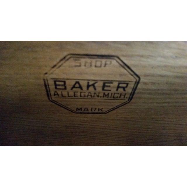 Image of Baker Antique 1930 Jacobean Buffet/Sideboard