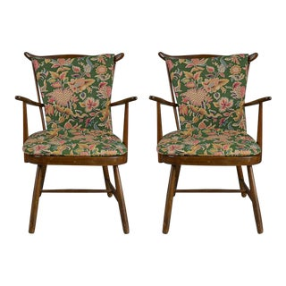Country Cosy Armchairs - A Pair
