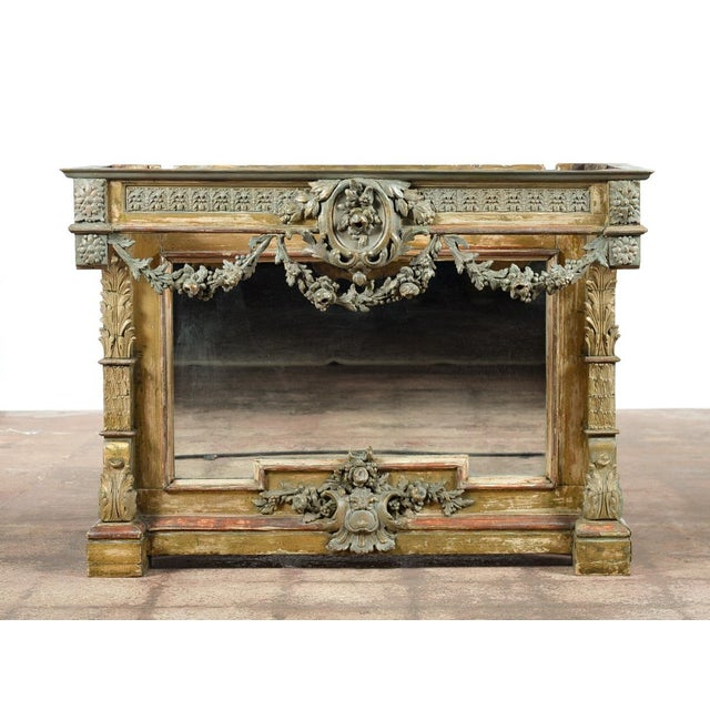 19th-Century French Marble Top Console - Image 3 of 10