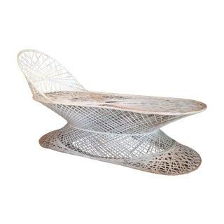 Spun Fiberglass Chaise Lounge