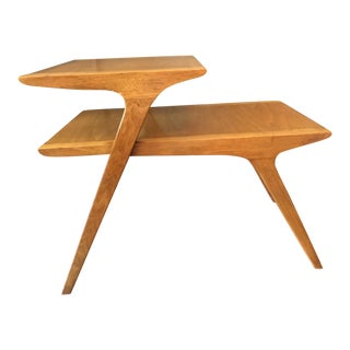 Jon Van Koert for Drexel Walnut Step Table