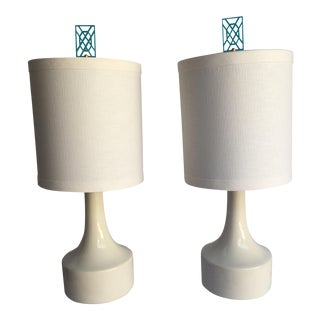 Taylor Burke Home Fretty Lamps - A Pair