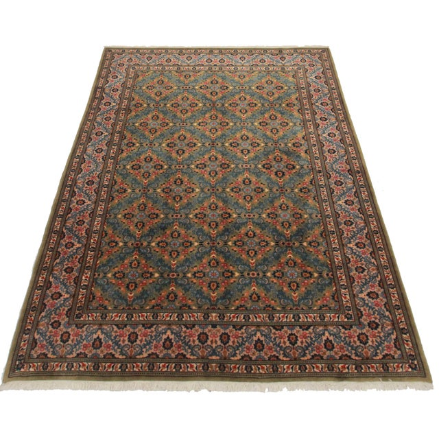 "Asian Style Persian Area Rug - 6'6"" x 9'10"" - Image 2 of 2"