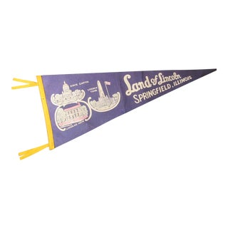 Land of Lincoln Tourism Pennant