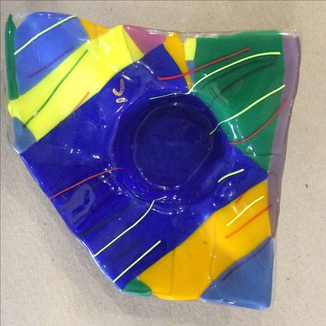 Memphis Studio Art Glass Bowl - Image 3 of 6