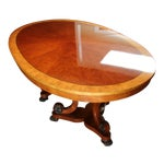 Image of Henredon Oval Dining Table