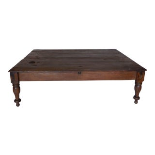 19th Century Bed or Coffee Table