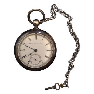 1900s Dueber Coin Silver Pocket Watch