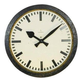 Industrial Factory Clock from Siemens & Halske, 1950s