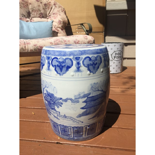 Image of Chinese Garden Stools - Pair