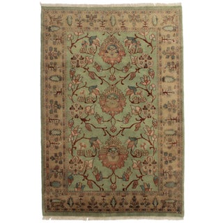 RugsinDallas Hand Knotted Wool Rug - 6' X 8'9""