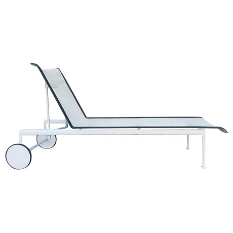 Richard Schultz Knoll Outdoor Chaise Lounge - Image 1 of 4