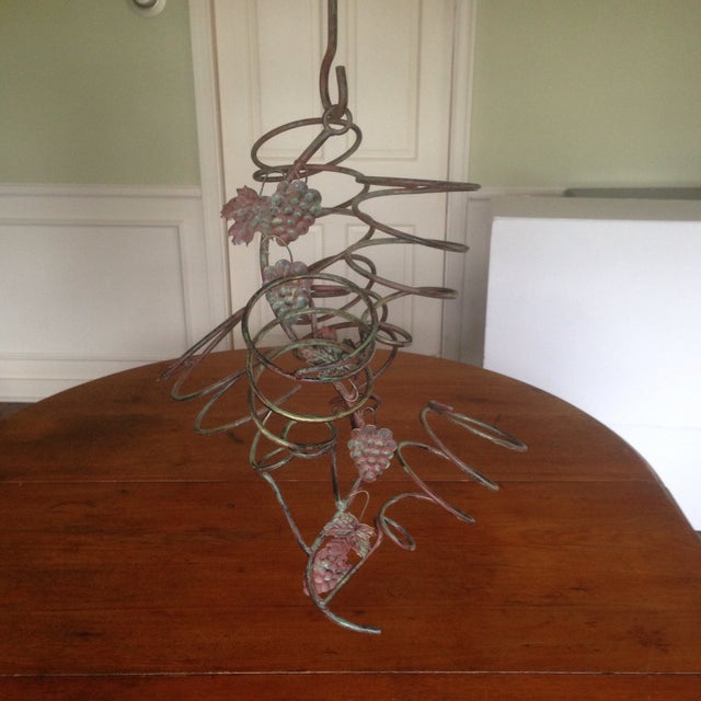 Vintage Metal Hanging Bottle Tree - Image 3 of 11