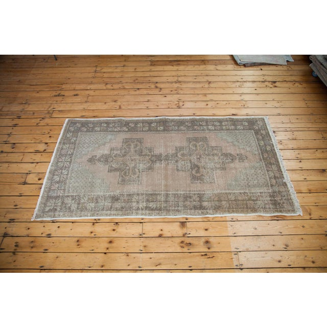 "Distressed Oushak Rug - 4'4"" x 8'2"" - Image 3 of 6"