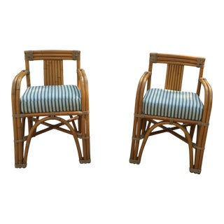 Rattan Chairs - A Pair